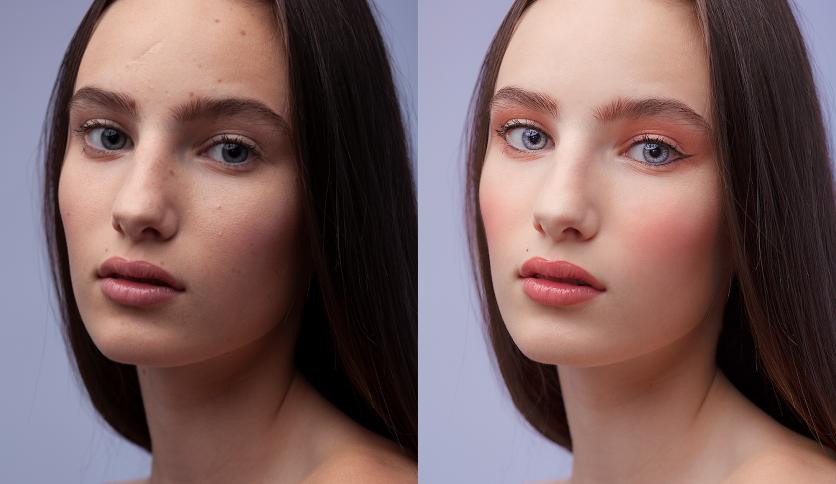 Portrait Retouching & Digital Makeup