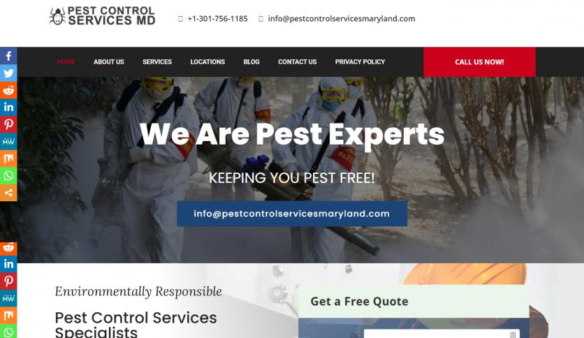 Local lead gen Website