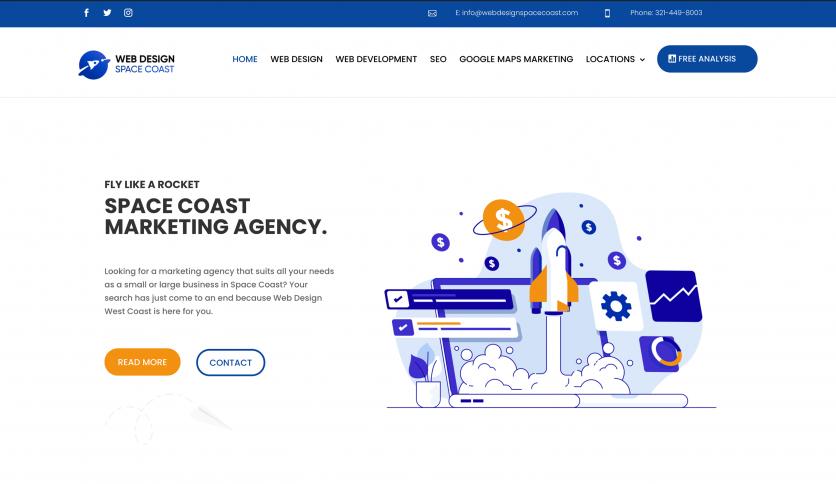 Space Coast web design and SEO
