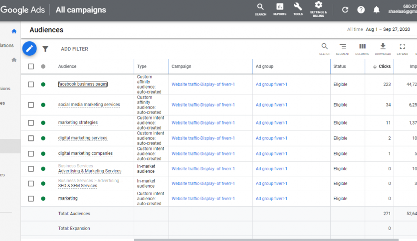 Google ads campaign setup and manage